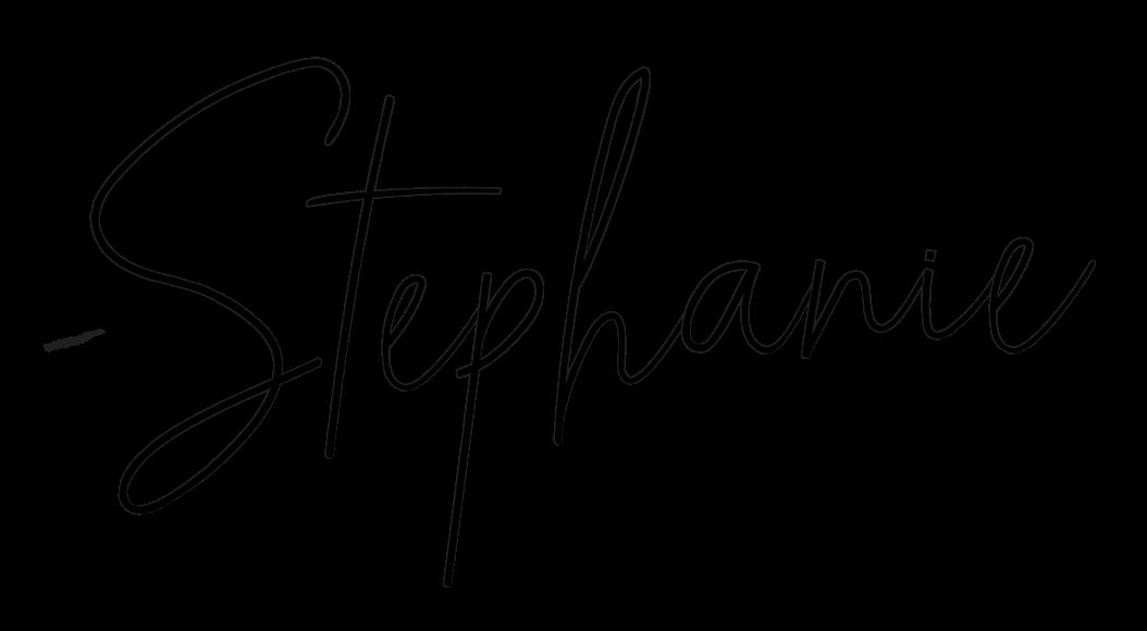 signature: Stephanie